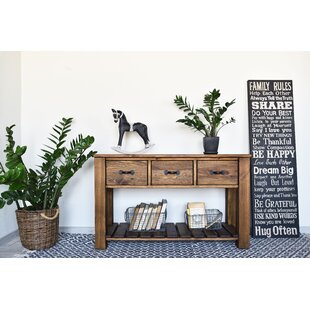 Cerny Rustical Console Table By Union Rustic