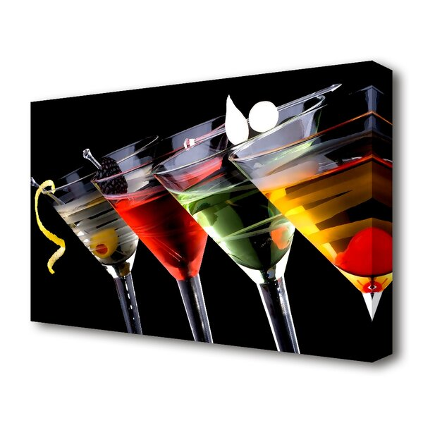 East Urban Home Drinks Anyone Kitchen Canvas Print Wall ...