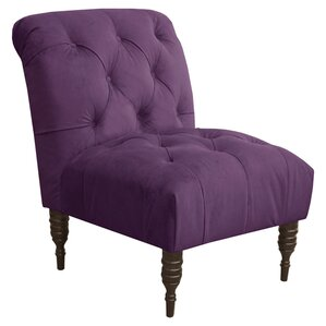 Audra Tufted Slipper Chair by Skyline Furnit..