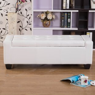 Mackenzie Faux Leather Storage Bench