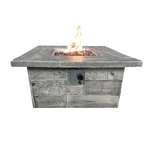 Concrete Propane Fire Pit Table