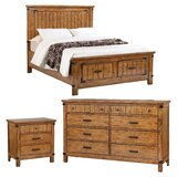 Hensley California King Standard Configurable Bedroom Set by Loon Peak