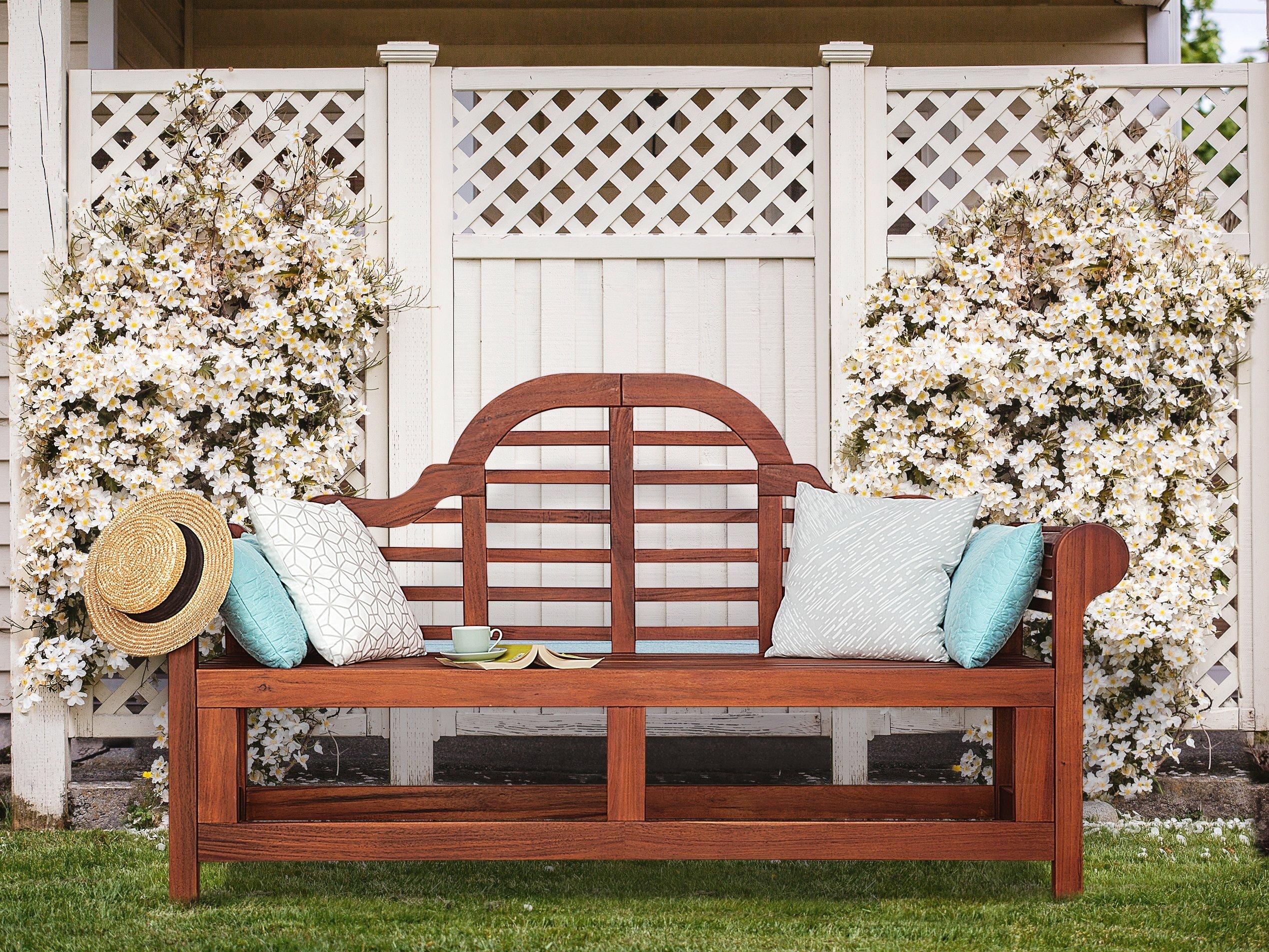 Surprising Shelbie Garden Bench Machost Co Dining Chair Design Ideas Machostcouk