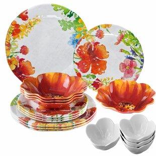 Giovanna 16 Piece Dinnerware Set, Service for 4
