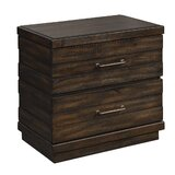 2 - Drawer Nightstand in Distresed Brown by Millwood Pines