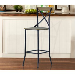 Eaker Industrial 29 Bar Stool (Set of 2)