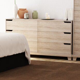Waterloo 6 Drawer Double Dresser
