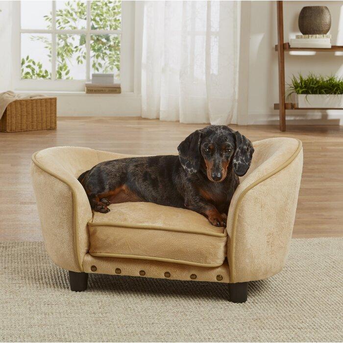 Super Cinco Bayou Ultra Plush Snuggle Dog Sofa With Cushion Creativecarmelina Interior Chair Design Creativecarmelinacom