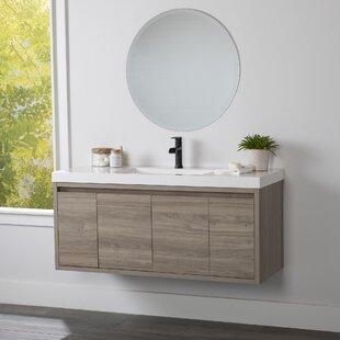 48 Inch Mid Century Modern Bathroom Vanities You Ll Love In 2021 Wayfair