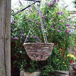 Harnden Rattan Hanging Basket By Sol 72 Outdoor