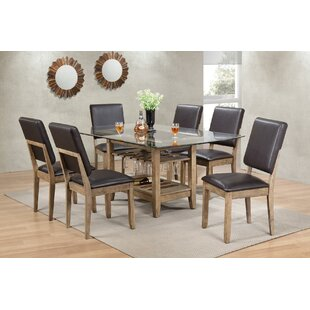 Deonte Dining Table Millwood Pines