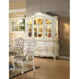 Ceri Lighted China Cabinet by Rosdorf Park