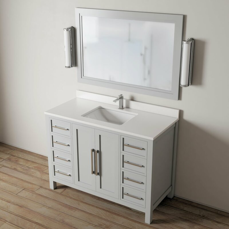 Latitude Run Zadig 48 Single Bathroom Vanity Set Wayfair