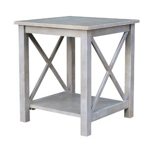 Gabby End Table by Highland Dunes