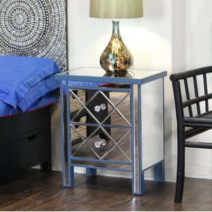Heather Ann Creations End Table With Storage