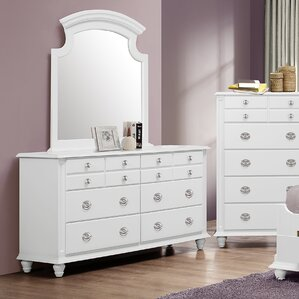 Daley 6 Drawer Dresser Wit..