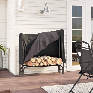 Caitlynn Firewood Log Rack And Cover By WFX Utility