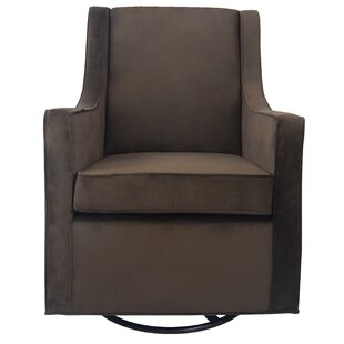 Sharp Swivel Glider by Harriet Bee Today Sale Only