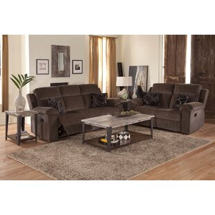 Norrington 3 Piece Reclining Configurable Living Room Set by Red Barrel Studio