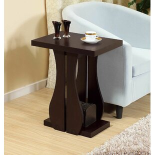 Melin Chairside End Table with Storage by Ebern Designs