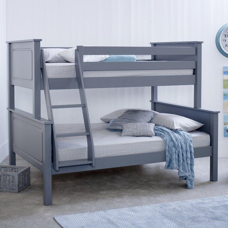 Viv Rae Bilton Triple Sleeper Bunk Bed Reviews Wayfair Co Uk