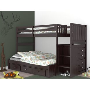 Orval Twin Over Full Bunk Bed with Drawers by Greyleigh