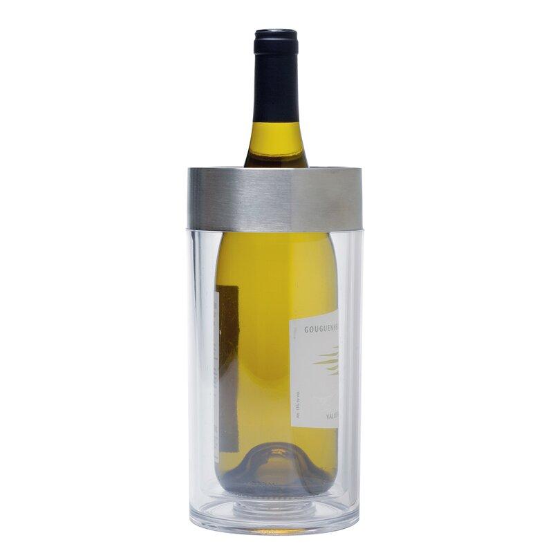 Ebern Designs Baez Acrylic Wine Chiller Wayfair