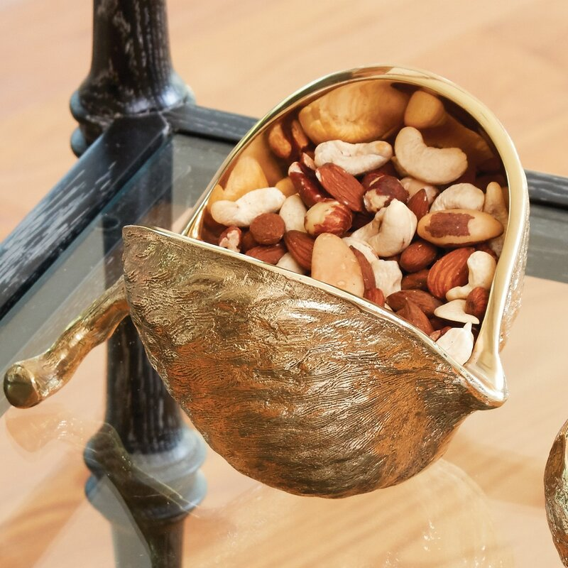Global Views Chestnut Candy Nut Bowl Wayfair