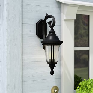 Three Posts Bowe 1-Light Outdoor Wall Lantern