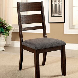 DeAndre Cottage Solid Wood Dining Chair (Set of 2)