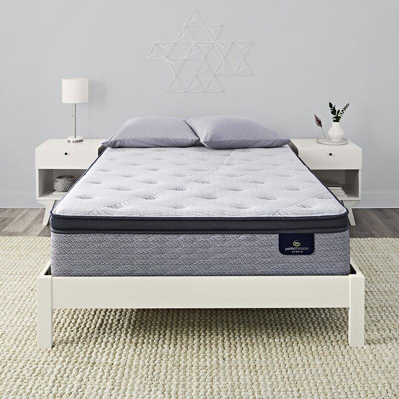 """Serta Perfect Sleeper 14.75"""" Standale II Pillow Top Firm Hybrid Mattress"""