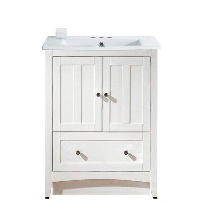 """Bathroom Vanities Melbourne Fl strasser woodenworks simplicity 31"""" single bathroom vanity set"""