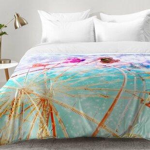 East Urban Home Galaxy Wheel Comforter Set