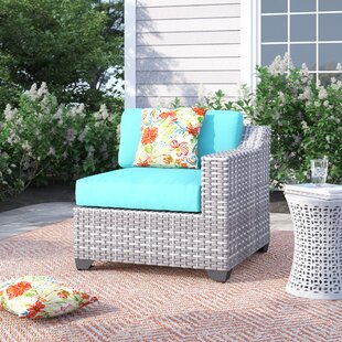 Falmouth Left Arm Patio Chair with Cushions