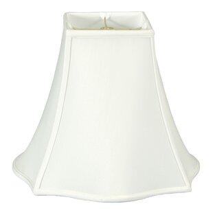 Best Deals 16 Silk/Shantung Bell Lamp Shade By Three Posts