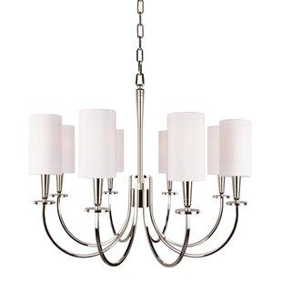 Canora Grey Regents 8-Light Shaded Chandelier