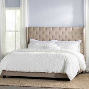 Amir Upholstered Panel Bed by Alcott Hill