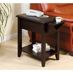 Ceniceros Wooden Chairside End Table by Winston Porter