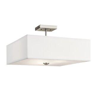 Holloway 3-Light Semi Flush Mount