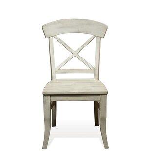 Gracie Oaks LaShun X-Back Side Chair (Set of 2)