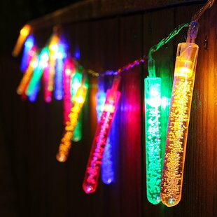 The Holiday Aisle Bubble Column 20 Light String Lights