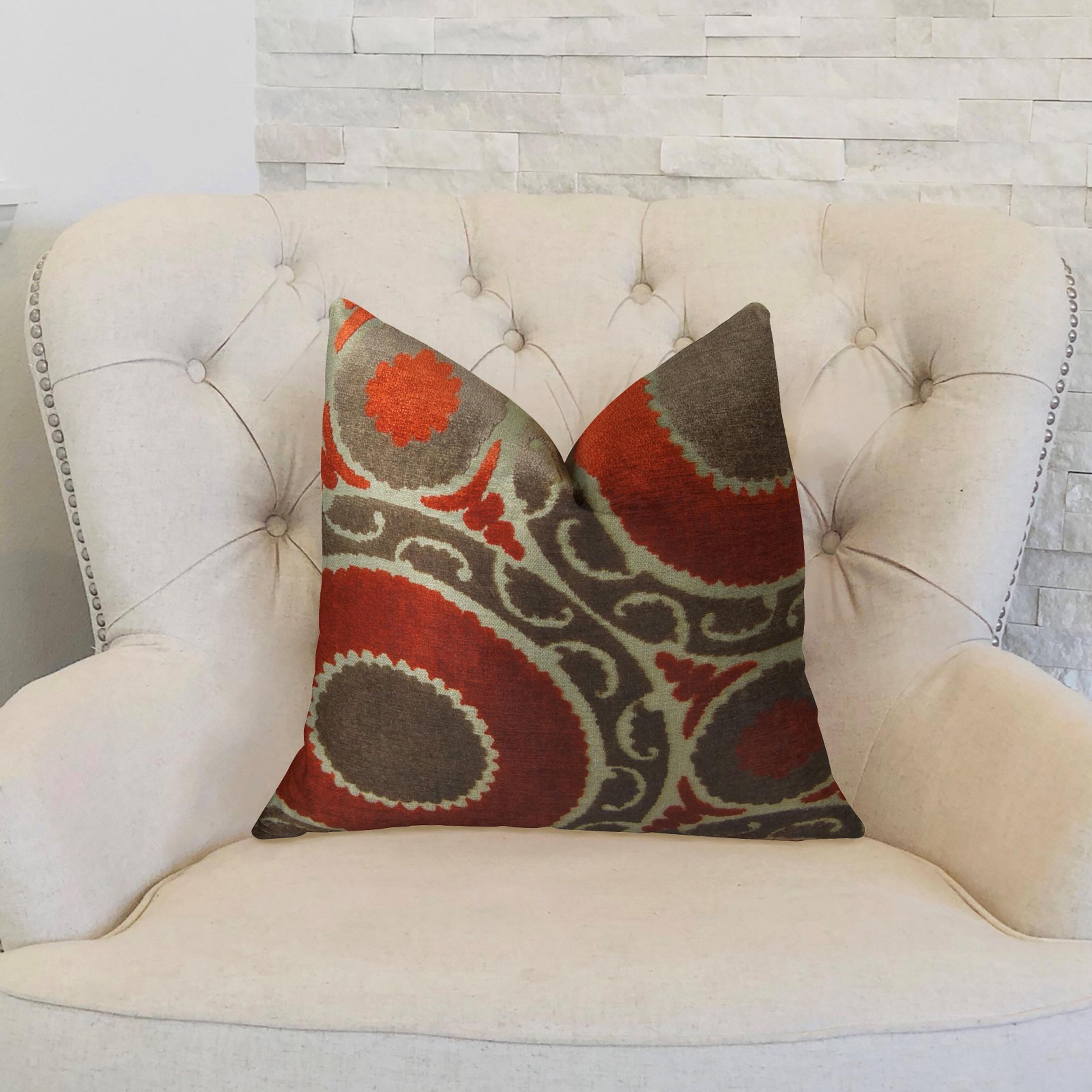 Plutus Brands Pomegranate Double Sided Throw Pillow Wayfair