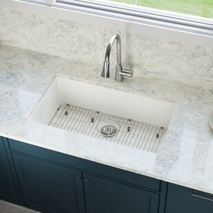 Quartz Luxe 33 L x 18 W Undermount Kitchen Sink