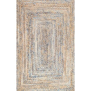Affordable Price Destrie Hand-Braided Denim Blue Area Rug By Mistana