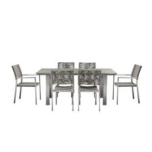 Chandra 7 Piece Dining Set by Orren Ellis