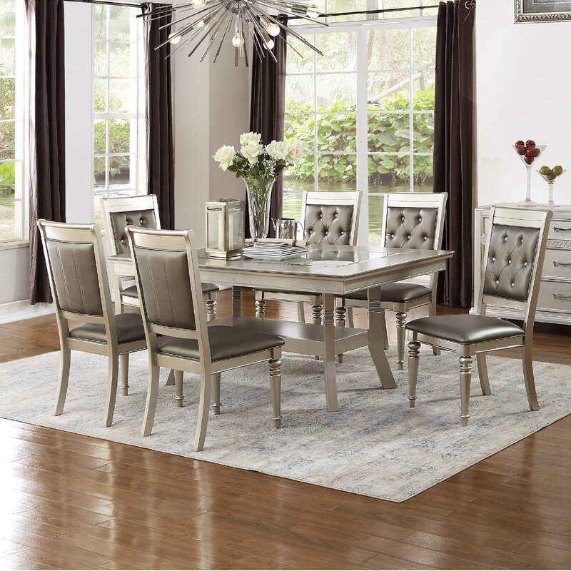 Hartell 7 Piece Dining Set