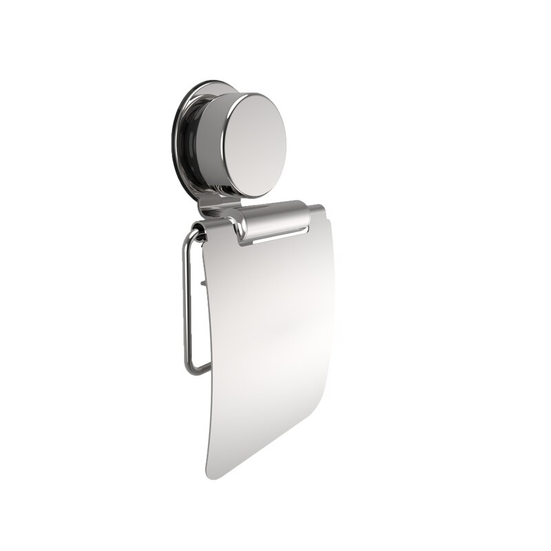 Wall Mount Toilet Paper Holder With Flap