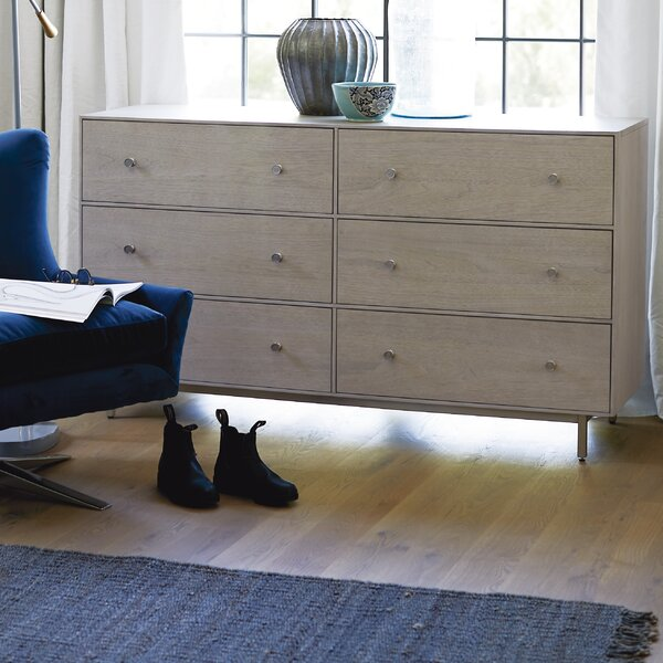 Beahm 6 Drawer Double Dresser by Orren Ellis