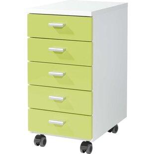 Brust 5 Drawer Filing Cabinet By Rebrilliant