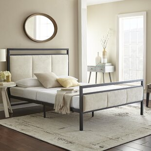 Inexpensive Barnell Upholstered Platform Bed by Darby Home Co Reviews (2019) & Buyer's Guide